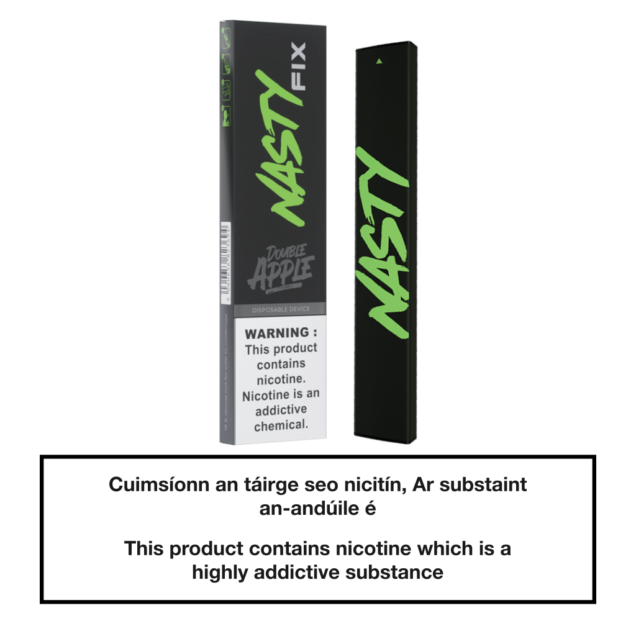 20mg Nasty Fix Disposable Pod Device - Double Apple