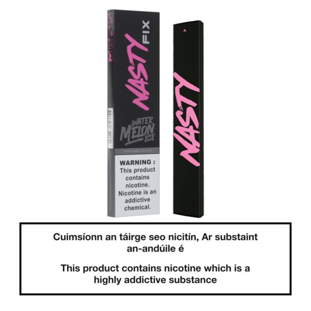 20mg Nasty Fix Disposable Pod Device - Watermelon Ice