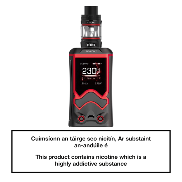 SMOK T-Storm Vape Kit - Black Red