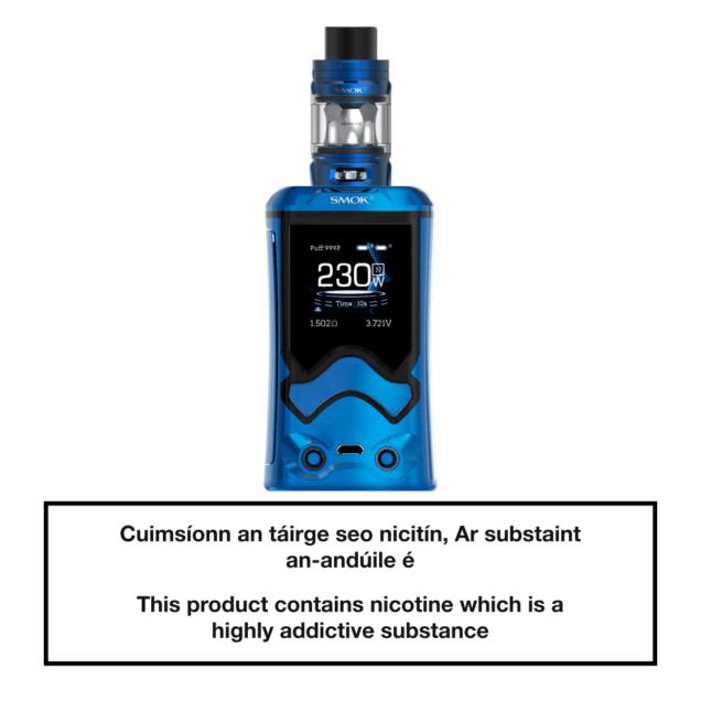 SMOK T-Storm Vape Kit - Prism Blue