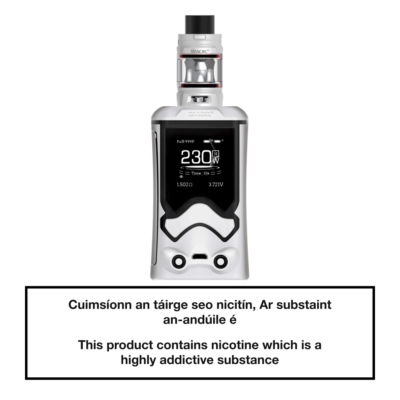 SMOK T-Storm Vape Kit - White Black