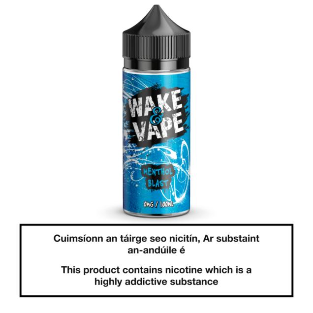 Wake & Vape Menthol Blast 100ml