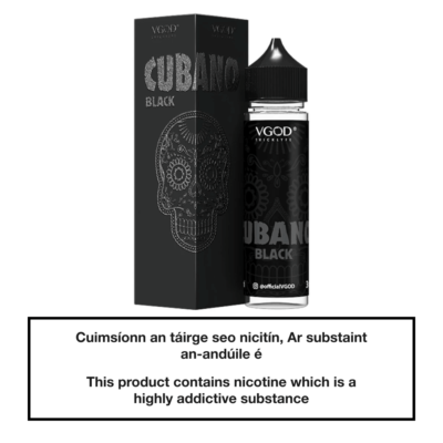 VGOD Cubano Black 50ml
