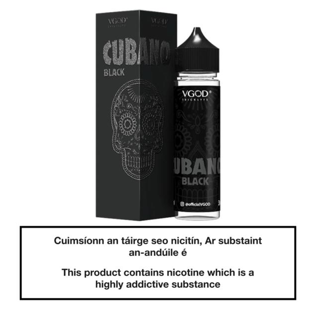 VGOD Cubano Black 50ml
